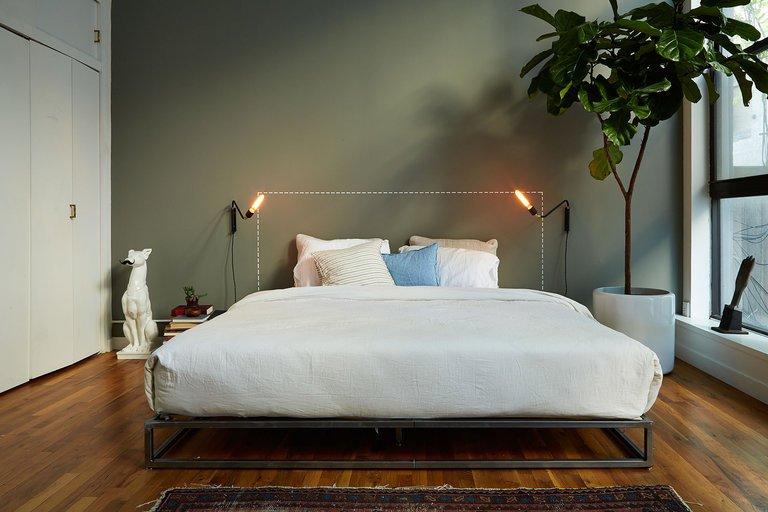 bàng singapore trong phòng ngủ